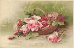 TSN sans numéro [panier avec roses roses et rouges - idem 970]