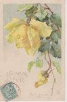PFB 1882 Gruppe 7. [1 rose jaune, 1 bouton jaune]