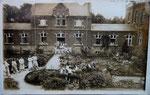Ath Anonyme [photo-carte Hôpital guerre 14-18 soldats et orchestre]