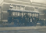 Ath Anonyme [photo-carte, sans légende wagon postal en gare de Ath]