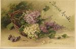 TSN 970 [panier avec lilas mauve et blanc]