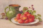 STZF 1249 [cruche verte et fraises]