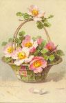 STZF 1205 [panier avec fleurs d'églantier]