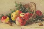 TSN 1652 [7 pommes, panier, noisettes]