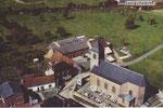 Anonyme vue aérienne église 1964