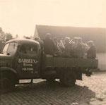 Camion de Marcel Barbieux en septembre 1961