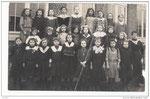 Lanquesaint photo d'école 1919