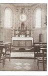 Anonyme NOTRE-DAME DE LA CAVÉE, - Vue intérieure de la Chapelle. [sans personne]