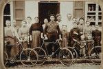 Club Vélocipédique l'Hirondelle créé le 14 juillet 1902