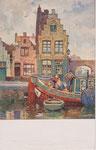 VAN ACKER Floris Belgique (1858-1940)