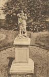 Chapelle-à-Wattines Anonyme Pensionnat de Saint-François ... Jardin et statue de Saint Christophe