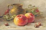 STZF 1251 [cruche en laiton et pommes]