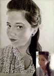 Portraitzeichnung nach Foto