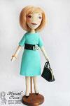 Авторская текстильная кукла ручной работы. Автор Маслик Ольга