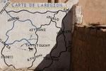 Plan der Region