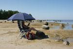 Strandleben in
