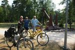Gemeinsam unterwegs mit den Rädern
