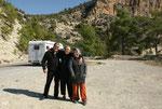 Türkisches Pärchen mit Camper