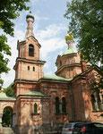 Russisch orthodoxe Kirche, schon ein bisschen baufällig