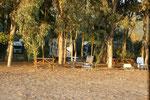 Der Camping Paradies liegt gleich daneben