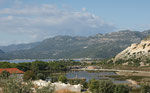 Blick auf den alten Hafen von Andriake