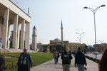 """""""Big Ben"""" und die Et'hem-Bey Moschee"""