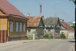 Viele Holzhäuser