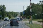 Wieder mehr Verkehr