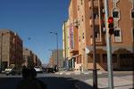 In Ouarzazate erste Ampel seit 3 Wochen