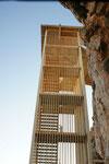 Die letzten 130 Stufen hinauf