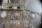 Die Fresken wurden vielfach zerstört