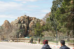 Von diesem Felsen, hat das Dorf seinen Namen