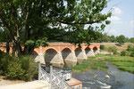 Die längste Ziegelbrücke ihrer Art in Europa
