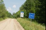 Kleiner Uebergang nach Lettland