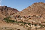 Malerische Dörfer in malerischer Landschaft