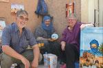 Abdellah, unser Womokünstler hat sich in Tiznit eingerichtet