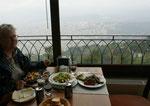 Leckeres Essen auf dem Gipfel