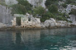 Insel Kerkova. Erst die Lykier, dann die Römer bewohnten die 2km lange Insel