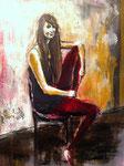 Jess, 20 x 16, acrylique, Vendu