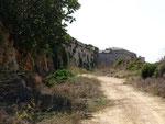 Die Mauer des Fort Chambray