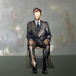 Guter Junge, 160 x 160 cm, Acryl auf Leinwand, 2017.