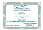 Praticien Massage Bien-Être, pierre Villette, Paris 17