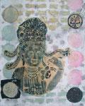Buddha's Traum - 24 x 30cm
