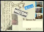 Sent to Theresa Ann Aleshire Williams - USA on 18-07-2011