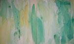 hello, it's me, acryl auf leinwand, 60x100 cm (2-teilig)