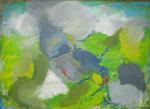 geheimer weg, acryl´+ölkreide auf leinwand, 50x70 cm