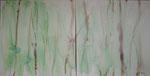 herzenergie, acryl auf leinwand, 80x160 cm (2-teilig)