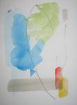 wandlungen I, aquarell+stift auf papier, 32x24 cm