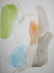 wandlungen VI, aquarell+stift auf papier, 32x24 cm