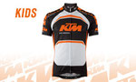 maillot junior KTM zip complet 3 poches     37€95
